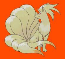 Ninetales Pokémon by Vortlas