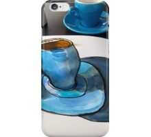 The Blue Cup iPhone Case/Skin
