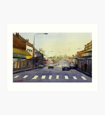 Late Afternoon, Windsor, NSW Art Print