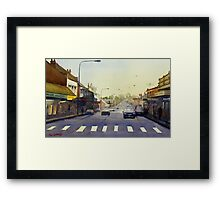Late Afternoon, Windsor, NSW Framed Print