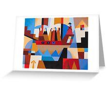 VAN DIEMENS LAND CONVICTS Greeting Card