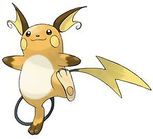 Raichu Pokémon by Vortlas