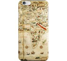 Ye Olde Medieval Mappe of the World iPhone Case/Skin