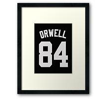 George Orwell - 1984 Framed Print