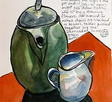 Teapot and Jug  by Evelyn Bach