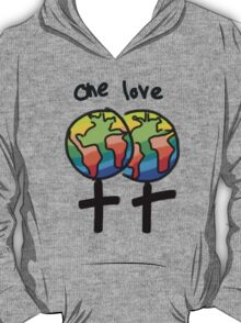 One Love Female T-Shirt
