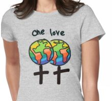 One Love Female Womens Fitted T-Shirt