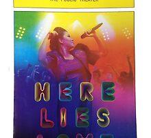 Playbill- Here Lies Love Off Broadway by metalbeak