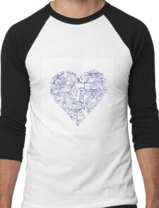 From Rome with love Men's Baseball ¾ T-Shirt