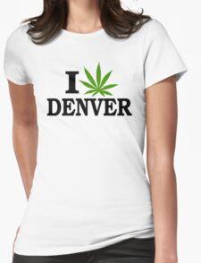 I Love Marijuana Denver Colorado T-Shirt
