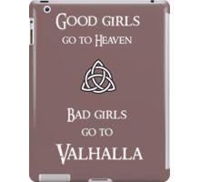 Good girls go to Heaven iPad Case/Skin
