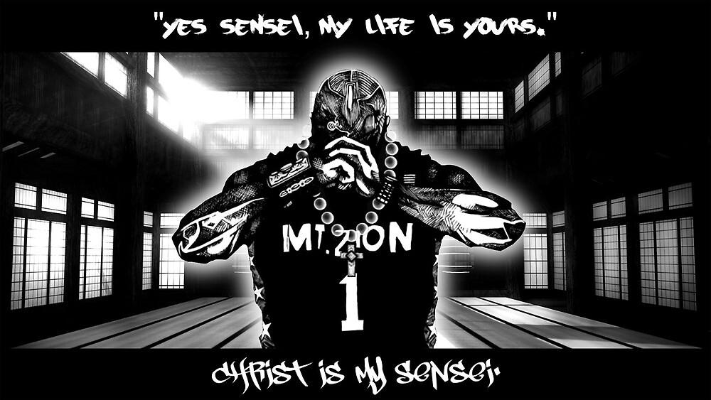 Christ is My Sensei by DZINE