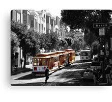 Cable Car-San Francisco Canvas Print