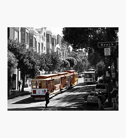 Cable Car-San Francisco Photographic Print