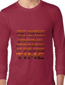 Mixing languages russian english geek funny nerd Long Sleeve T-Shirt