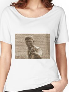 Billy Fury. Women's Relaxed Fit T-Shirt