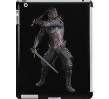 Dark Fantasy Knight with Two Swords iPad Case/Skin