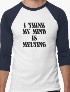 Funny Marijuana Men's Baseball ¾ T-Shirt