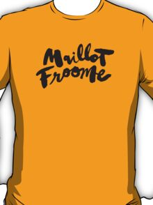 Maillot Froome : TDF Yellow T-Shirt