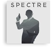 SPECTRE Grey Abstract Canvas Print