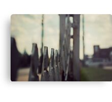 vintage motel photography, The Willows Motel, abandoned photography Metal Print