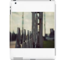 vintage motel photography, The Willows Motel, abandoned photography iPad Case/Skin