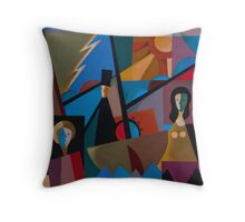 THE IMMIGRANTS Throw Pillow
