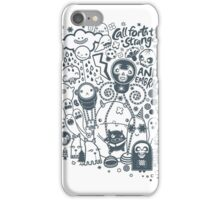 Call forth the strange and embrace iPhone Case/Skin