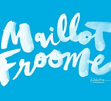 Maillot Froome : Sky Blue by finnllow