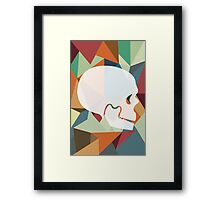 Skull Color Framed Print