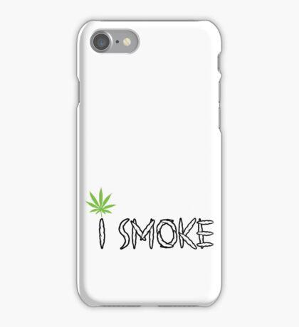 I Smoke Marijuana iPhone Case/Skin