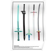 Sword Art Online Promo Poster Poster