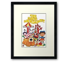 The Magic Roundabout Framed Print