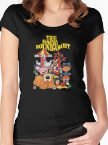 The Magic Roundabout Women's Fitted Scoop T-Shirt