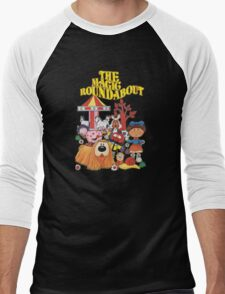 The Magic Roundabout Men's Baseball ¾ T-Shirt