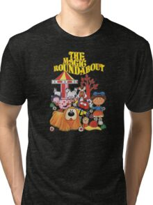 The Magic Roundabout Tri-blend T-Shirt