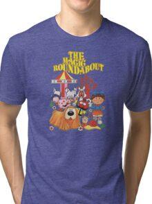 The Magic Roundabout Tri-blend T-Shirt