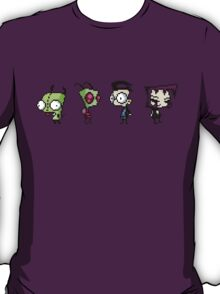 8-Bit Invader Zim Characters T-Shirt