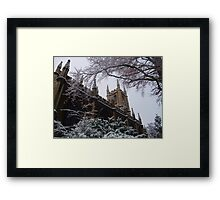 Chilly Church, Bath, UK Framed Print