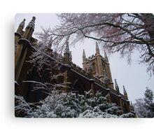 Chilly Church, Bath, UK Canvas Print