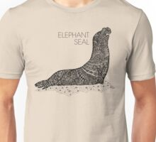 Elephant Seal Sketch Unisex T-Shirt