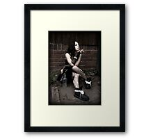 Gothic Vices Framed Print