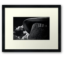 Techno Bandito Framed Print