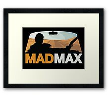 Mad Max - Don Draper Edition Framed Print