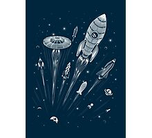 Space Race Photographic Print