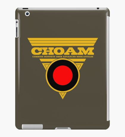 Dune CHOAM iPad Case/Skin