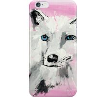White Wolf - Animal Art by Valentina Miletic iPhone Case/Skin