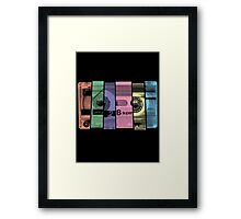Mix Tape 1.0 Framed Print