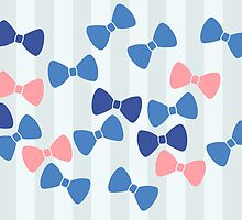 Vintage Pastel Bows by XOOXOO