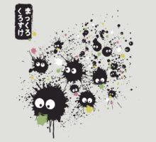 Makkuro Kurosuke ink T-Shirt
